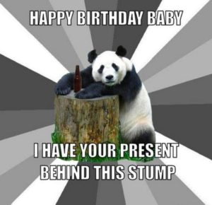Funny Happy Birthday Meme for Her
