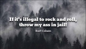 Funny Quotes from Kurt Cobain