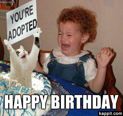 Hilarious Happy Birthday Meme for girls