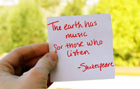 Inspiring Music Quotes by Shakespeare Images