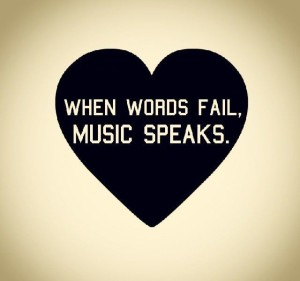 Music and Words Quotes Images