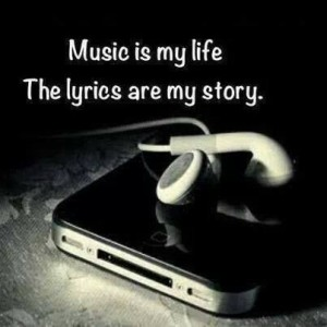 Music is my Life Emo Quotes