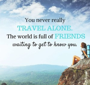 Quotes Traveling Alone