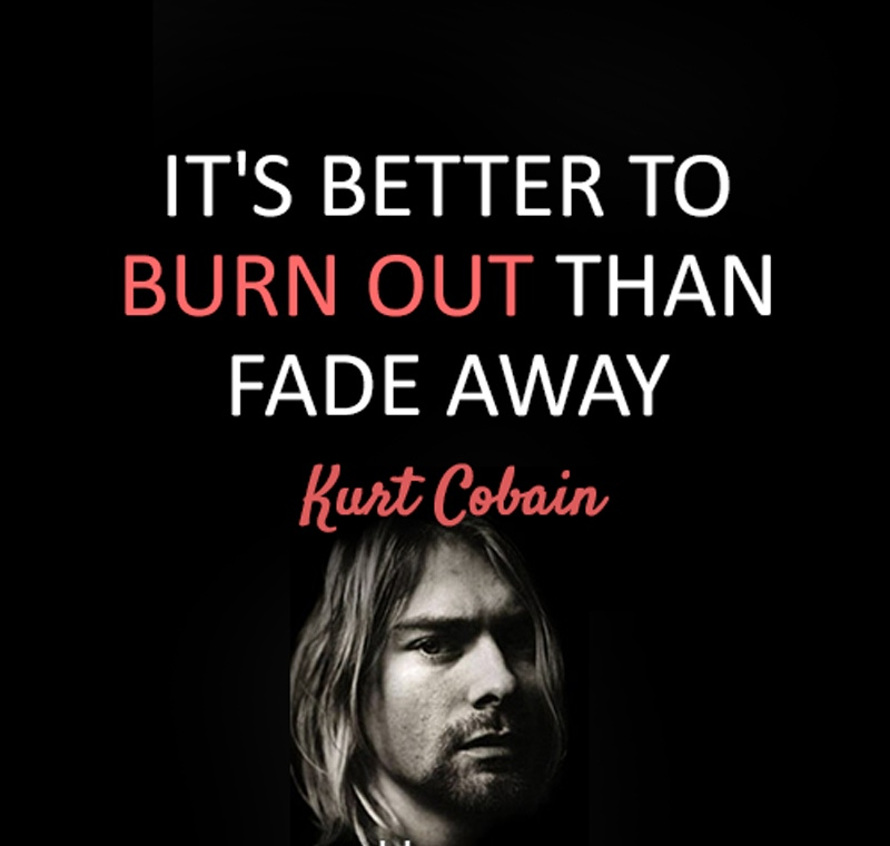 Quotes by Kurt Cobain on Drugs Images