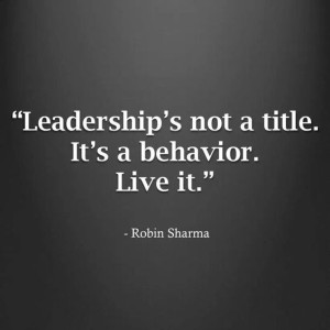 Quotes on Leadership by Robin Sharma Images
