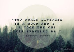 Road Quotes by Robert Frost