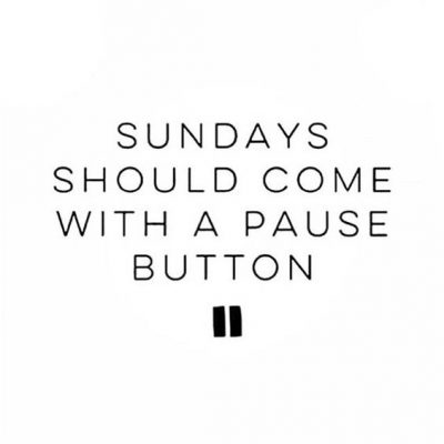 Sunday Weekend Quotes