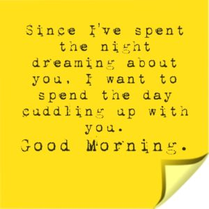 Sweet Good Morning Text for your Girlfriend