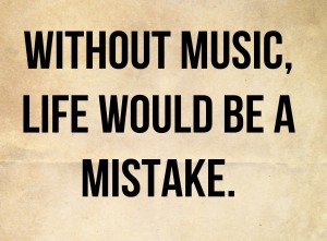 Touching Music Quotes IMages