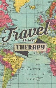 Travel Is my Therapy Quotes