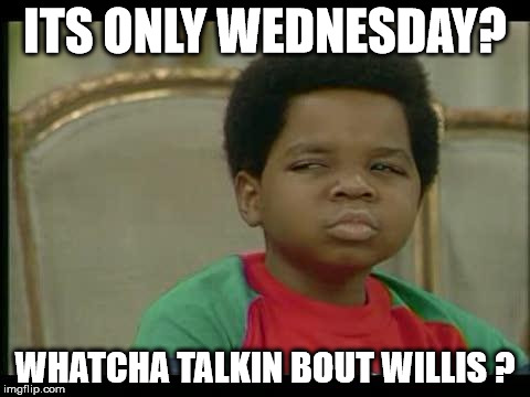 Wednesday Meme Pic
