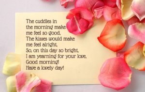 good morning text messages for girlfriend