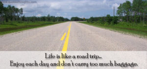 Life is like a Road Quotes IMages