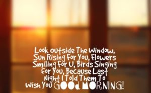 romantic good morning text for girlfriend