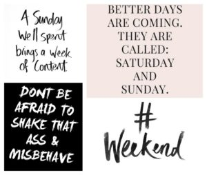 weekend mood quotes
