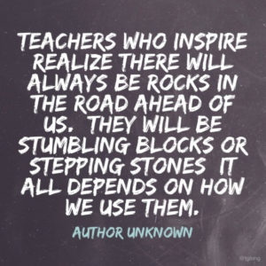 Encouraging quotes for teachers