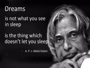 Famous Encouraging Quotes by Abdul Kalam