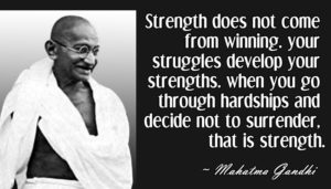 Famous Encouraging Quotes by Mahatma Gandhi