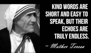 Famous Encouraging Quotes by Mother Teresa