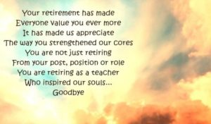 How to Wish on Retirement Day
