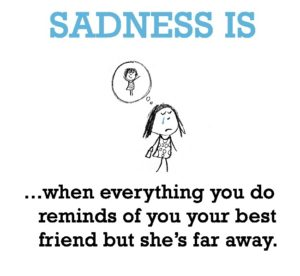 Missing your BFF Quotes