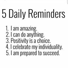 Positive Affirmation Images Facebook