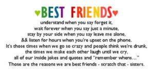 Quotes for your BFF