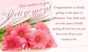 Retirement Card Messages and Wishes