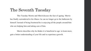 Tuesday with Morrie Quotes 7
