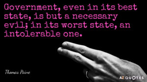 thomas paine government quotes