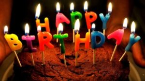 Happy Birthday Cake with Candles Images 2017