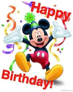 Happy Birthday Disney Images
