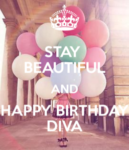 Happy Birthday Diva Images
