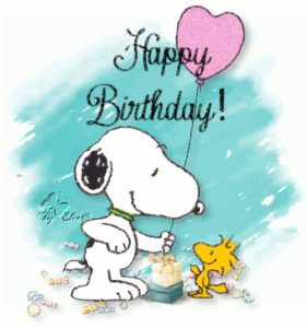 Happy Birthday Images Snoopy
