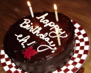 Happy Birthday Images with Chocolate Cake 2015