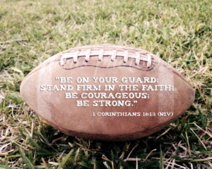 Inspirational Bible Verses for Football Players