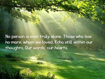 Inspirational Sympathy Quotes