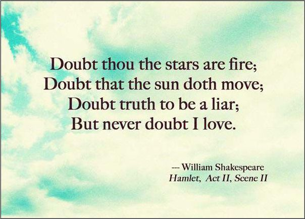 William Shakespeare Quotes From Hamlet