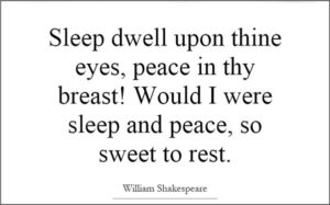 Shakespeare Quotes about Sleep