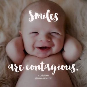 Smile are Contagious Quotes