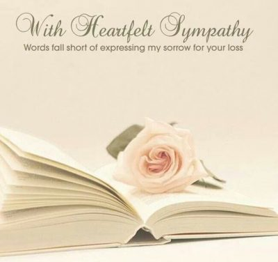 Sympathy Images With Heartfelt Quotes