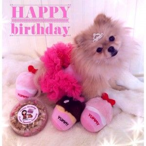 happy birthday images Pink