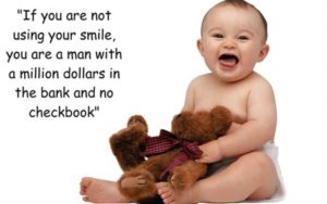 smile quotes baby