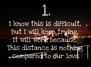 Cute Love Quotes for Long Distance RElationships