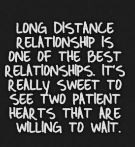 Cutest Long Distance Relationships Quotes