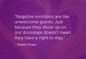 Deepak chopra quotes about Negativity