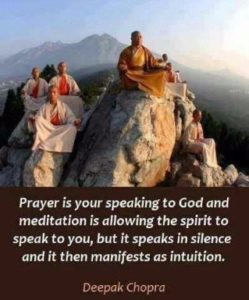 Deepak chopra quotes god and Prayer