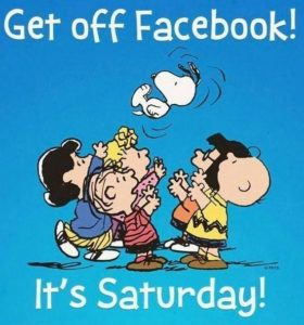 Funny Saturday Facebook Quotees