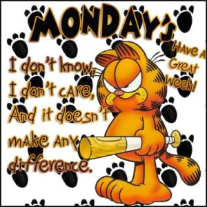 Garfield Mondays Suck
