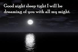 Good night quotes to make her smile